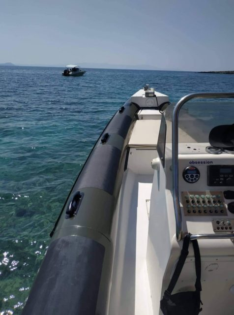 Fost 7.40m inboard for rent in Chania provided by SEAze The Day