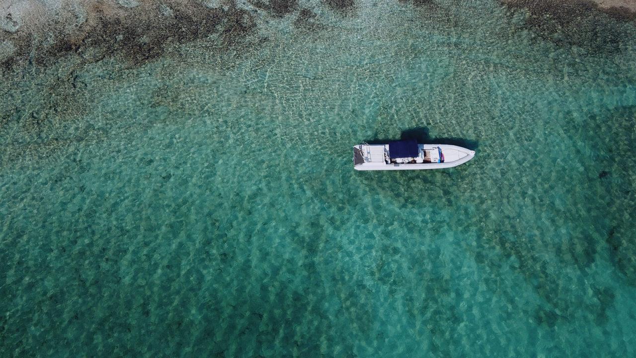 boat trip to Elafonissi in Crete