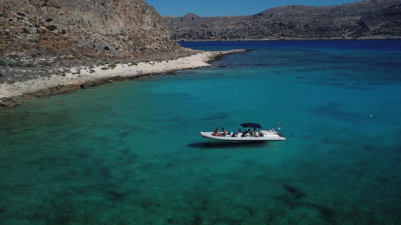 Gramvousa boat