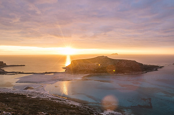 Romantic Sunset Boat Trips to Balos