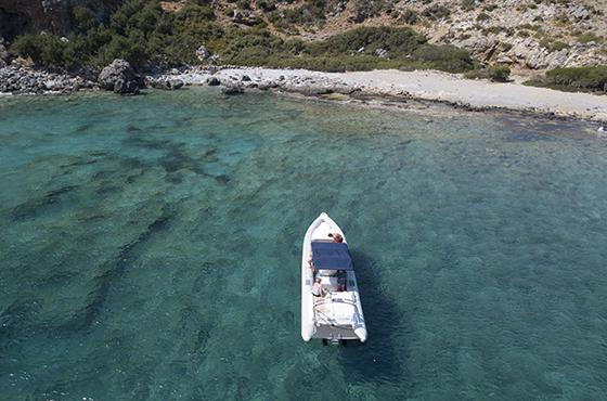 RIB boat Rental Chironisia