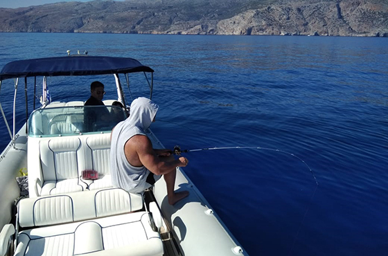 Learn how to Fish in Crete