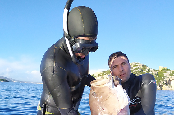 Spearfishing experience Chania