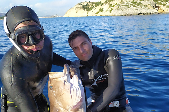 Spearfishing Trips Crete