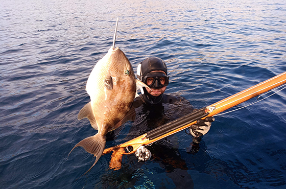 Spearfishing in Kissamos