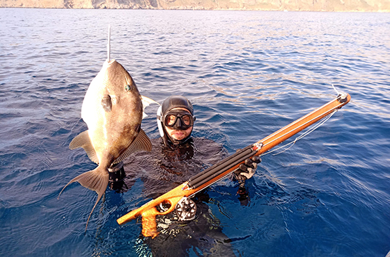 Spearfishing in Chania