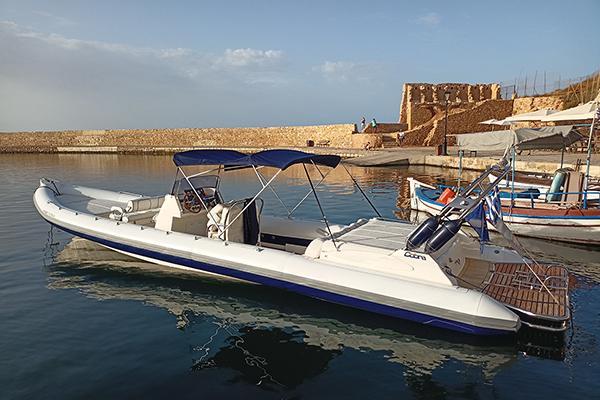 Pegasus boat rental in Crete