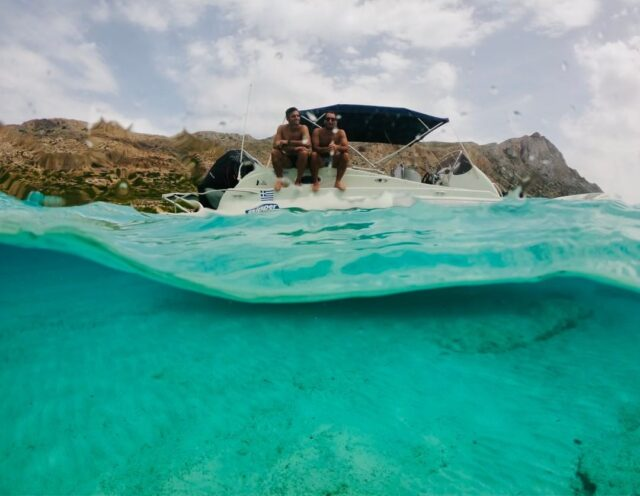 Boat Trip in Crete