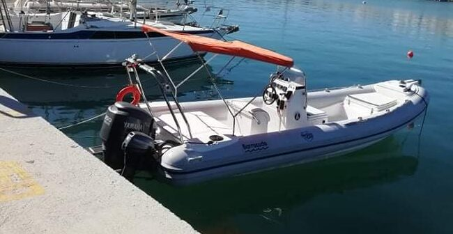 rent a boat with or without a skipper in Ierapetra, Crete